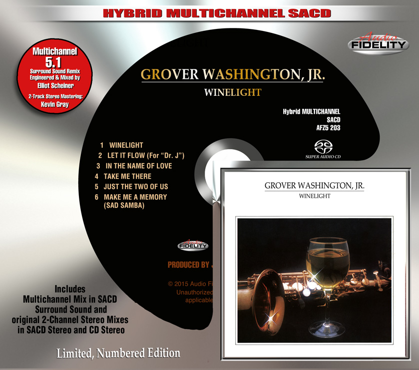 Grover Washington Jr Winelight Audiophile Collectibles