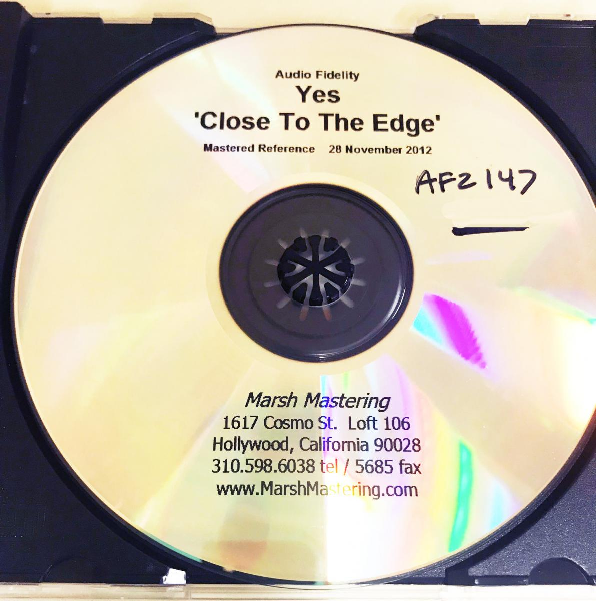 Yes :: Close To The Edge Revised | Audiophile Collectibles